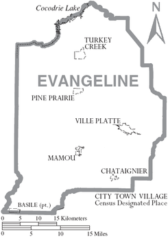 Map of Evangeline Parish Louisiana With Municipal Labels.PNG