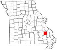 Map of Missouri highlighting Madison County.png