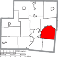 Map of Shelby County Ohio Highlighting Perry Township.png