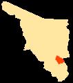 Mapa Municipios Sonora Rosario.png