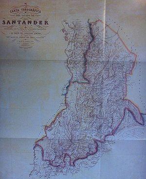 Santander State - Sovereign State of Santander.
