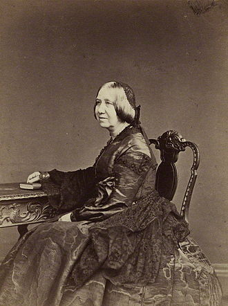 Margaret Gillies - Margaret Gillies, 1864 photograph
