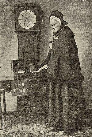 Ruth Belville - Maria Belville, 1892