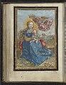 Maria met Kind door een engel gekroond, RP-P-2011-115-17.jpg