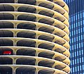 Marina City, Chicago One-car garage.jpg