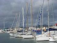 Marina of Santa Eulària des Riu