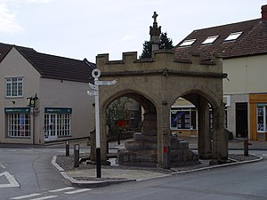 Market Cross, Cheddar - The Market Cross in 2006
