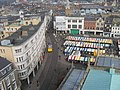 Market from Great St Mary's church tower - geograph.org.uk - 386887.jpg