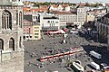 Marktplatz in Halle Saale an einem Samstag im Sommer - Wochenmarkt und buntes treiben - panoramio.jpg