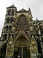 Marne Chalons-En-Champagne Cathedrale Saint-Etienne Transept Nord Tour Romane 21062016 - panoramio.jpg