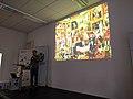 Marteen Dammers talk Wikidata third birthday.jpg
