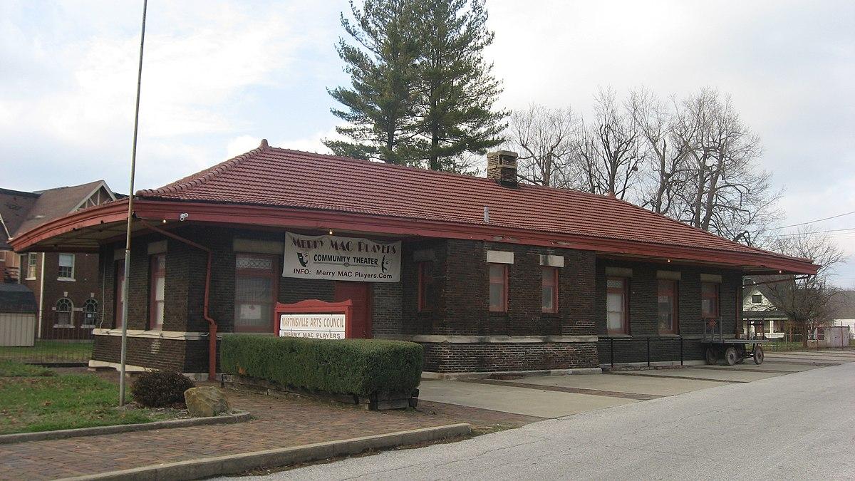 Martinsville Station Wikipedia