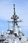 Mast of JS Atago(DDG-177) right rear view at JMSDF Maizuru Naval Base April 13, 2019 01.jpg