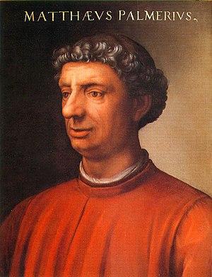 Cristofano dell'Altissimo - Portrait of Matteo Palmieri (1406–1475)