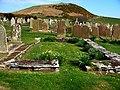 Maughold churchyard, south keeill - geograph.org.uk - 777688.jpg