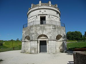 Ostrogoths - The mausoleum of Theodoric the Great in Ravenna, Emilia-Romagna
