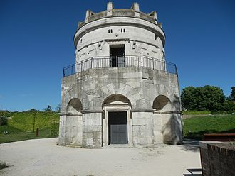 Ravenna - The Mausoleum of Theoderic.