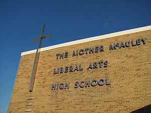 Mother McAuley Liberal Arts High School - Image: Mc A Uleylib