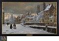 Meebrug in Brugge onder de sneeuw, circa 1858 - circa 1940, Groeningemuseum, 0043324000.jpg