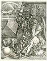 Melancholie Melencolia I (titel op object), RP-P-OB-1237.jpg
