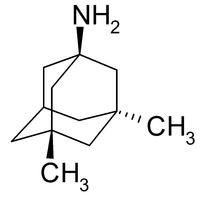 Strukturformel von Memantin