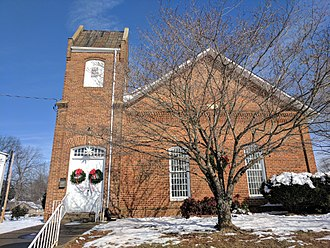 Maiden, North Carolina - Memorial Reformed Church in Maiden