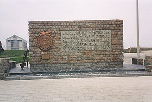 Battle of Dunkirk - Battle of Dunkirk memorial