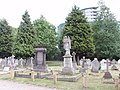 Memorials in Acton Cemetery - geograph.org.uk - 177868.jpg