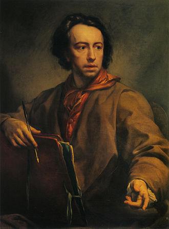 Anton Raphael Mengs - Self-portrait, c. 1775