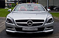 Mercedes-Benz SL 350 (R 231) – Frontansicht geöffnet, 22. Mai 2013, Düsseldorf.jpg