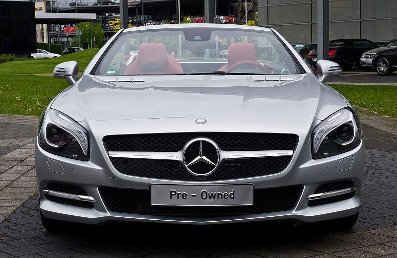File mercedes benz sl 350 r 231 frontansicht ge ffnet for Mercedes benz rt 22