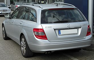 Mercedes-Benz C-Class (W204) - Estate (pre-facelift)