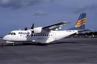 CASA/IPTN CN-235 - Merpati Nusantara's CN-235 in Indonesia