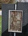 Metal remnant - September 11 Memorial - Lake View Cemetery - 2014-11-26 (16922470553).jpg