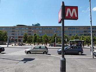 Lingotto (Turin Metro) - Image: Metro Torino Lingotto