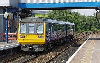 Tyne Valley line - Image: Metrocentre railway station MMB 03 142084
