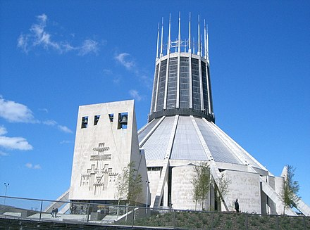 Liverpool Metropolitan Cathedral of Christ the King Metropolitan Cathedral of Christ the King in Liverpool - geograph.org.uk - 1304.jpg