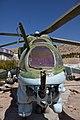 MiL MI-24 helicopter gunship in the Herat Military Museum 2.jpg