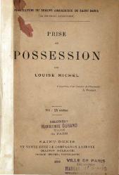 Louise Michel: Prise de possession