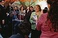 Michelle Bachelet visita junta de vecinos Nº 34 de la comuna de Lo Espejo (8673367518).jpg
