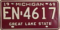 Michigan 1969 License Plate.JPG