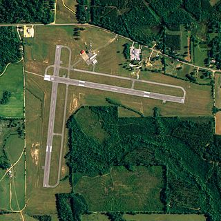 Middleton Field airport in Alabama, United States of America