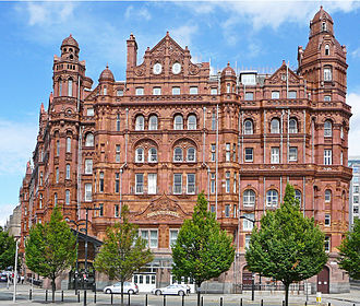 Charles Trubshaw - Midland Hotel in Manchester of 1898-1903