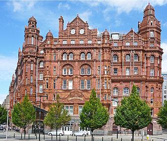 Midland Hotel, Manchester - West facade