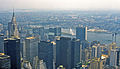 Midtown and East River from Empire State Bldg - June 1984.jpg