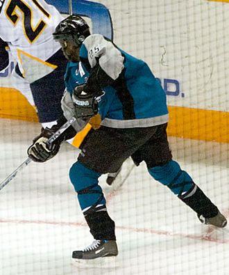 Mike Grier - Image: Mike Grier Sharks