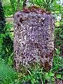 Milestone south of Brockenhurst Bridge, New Forest - geograph.org.uk - 172491.jpg