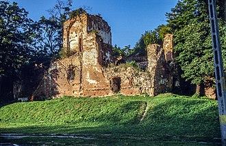 Milicz - Ruins of Milicz Castle