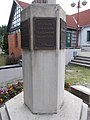 Millecentenáriumi emlékmű, Deák Ferenc idézetes tábla, 2019 Ajka.jpg
