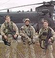 Miller, Cunningham and Brown in Afghanistan.jpg